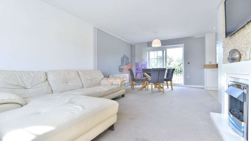 2 Bedrooms Apartment Flat for sale in Baxley Court, Campion Square, Sevenoaks, Kent, TN14