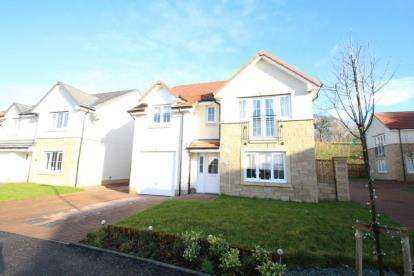 4 Bedrooms Detached House for sale in Heron Drive, Cumbernauld, Glasgow, North Lanarkshire