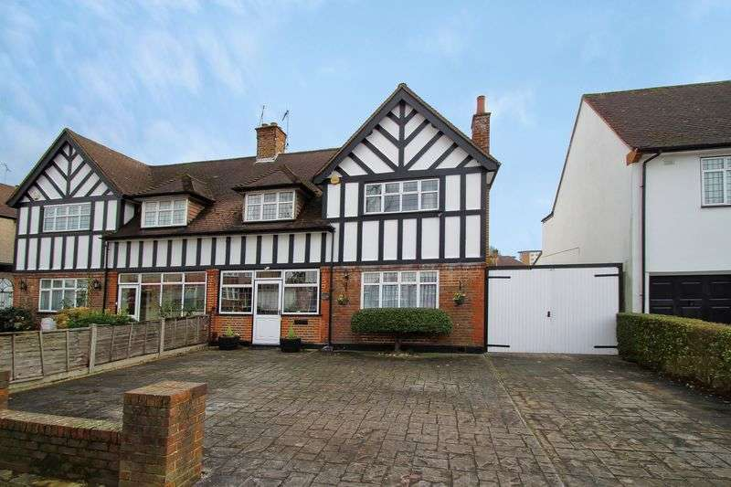 3 Bedrooms Semi Detached House for sale in Elm Grove, Harrow Garden Village