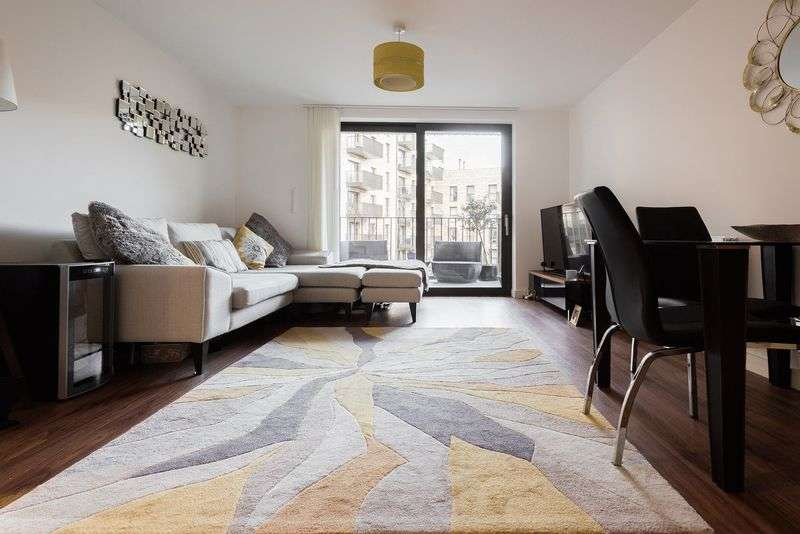 1 Bedroom Flat for sale in Kingfisher Heights, 2 Bramwell Way, London
