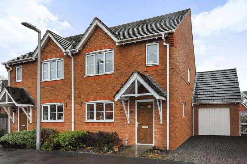 3 Bedrooms Semi Detached House for sale in Tonkins Drive, Thatcham