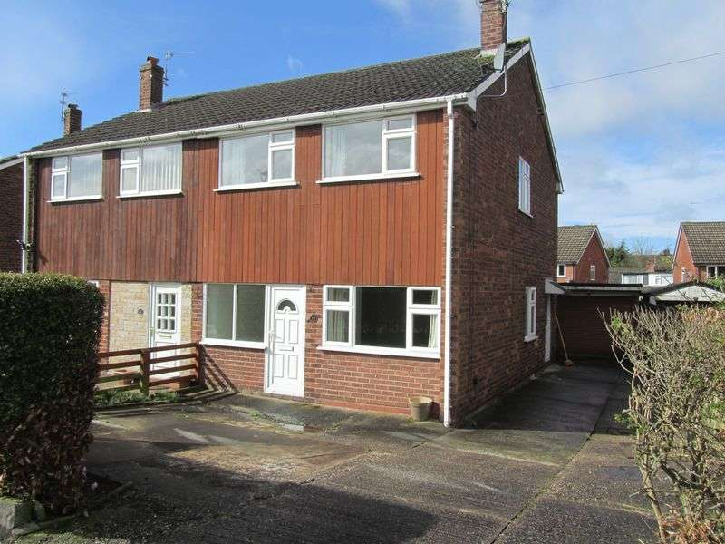 3 Bedrooms Semi Detached House for sale in Wiltshire Drive, Congleton