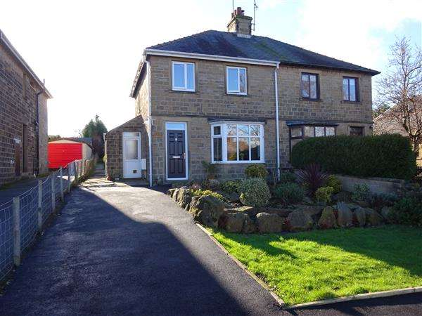 3 Bedrooms Semi Detached House for sale in Long Lane, Honley, Holmfirth