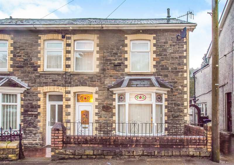 3 Bedrooms Semi Detached House for sale in Freeholdland Road, Pontnewynydd, Pontypool