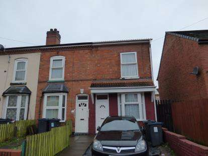 3 Bedrooms End Of Terrace House for sale in Birchwood Road, Balsall Heath, Birmingham, West Midlands