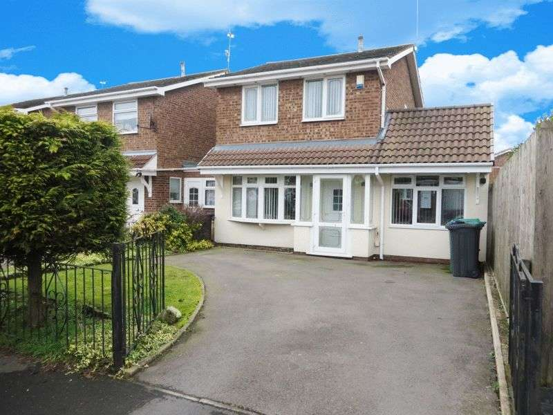 3 Bedrooms Detached House for sale in Gladstone Drive, Tividale, Oldbury