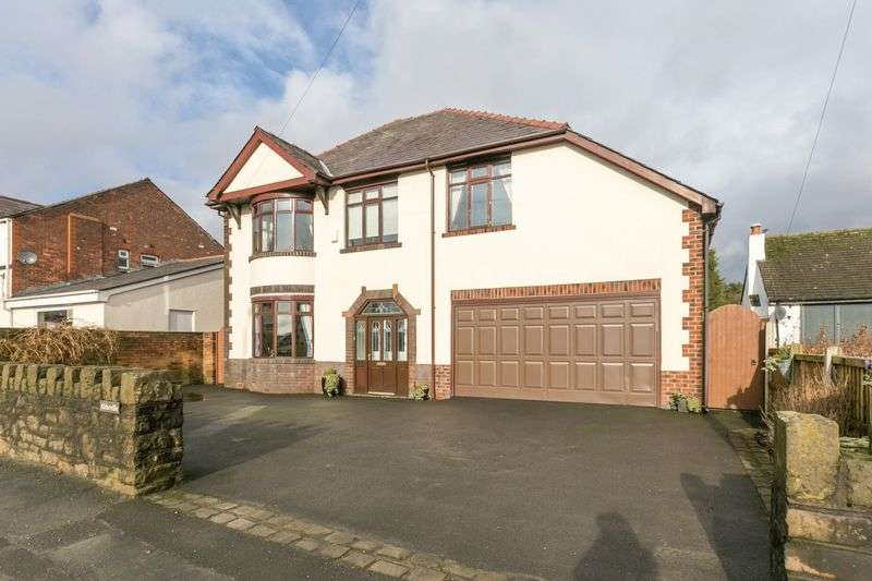 4 Bedrooms Detached House for sale in Abbeville, Hall Lane, Wrightington, WN6 9EL