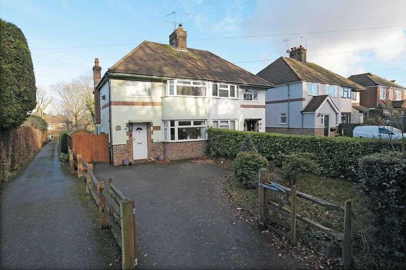3 Bedrooms Semi Detached House for sale in Crowborough Hill, Crowborough, East Sussex