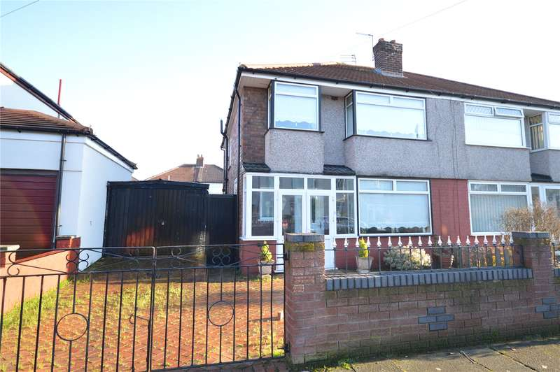 3 Bedrooms Semi Detached House for sale in Ambergate Road, Grassendale, Liverpool, L19