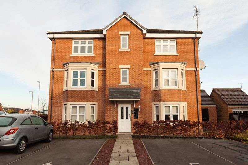 2 Bedrooms Flat for sale in Sandringham Meadows, Blyth