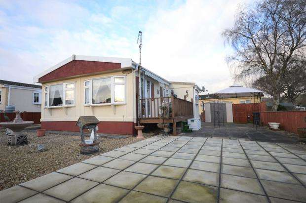 1 Bedroom Detached Bungalow for sale in Woodlands Park, Tedburn St. Mary, Exeter, Devon