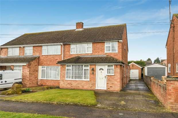 3 Bedrooms Semi Detached House for sale in Wingfield Road, Bromham, Bedford