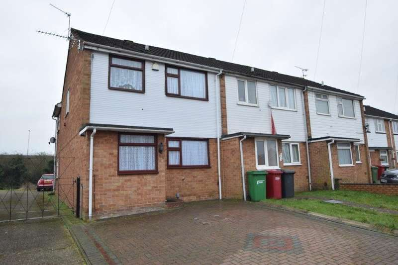 3 Bedrooms End Of Terrace House for sale in Lorne Close, Slough, SL1