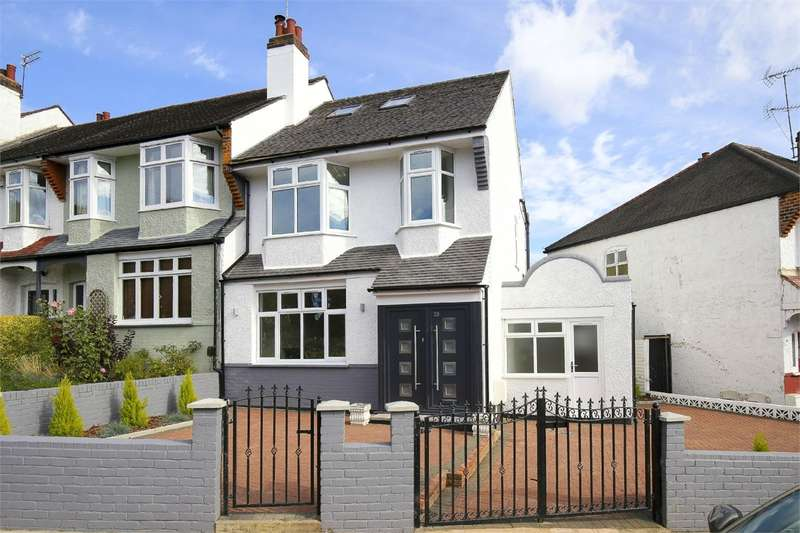 5 Bedrooms End Of Terrace House for sale in Crescent Rise, Alexandra Park, London