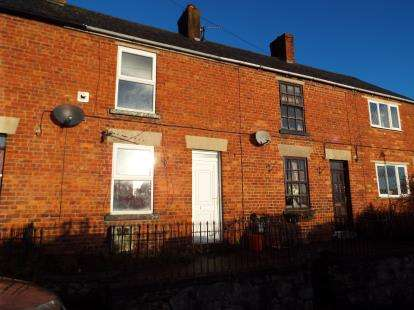 2 Bedrooms Terraced House for sale in Middle Lane, Denbigh, Denbighshire, LL16