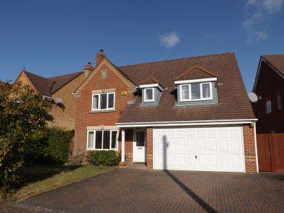 4 Bedrooms Detached House for sale in Sarisbury Green, Southampton, Hants