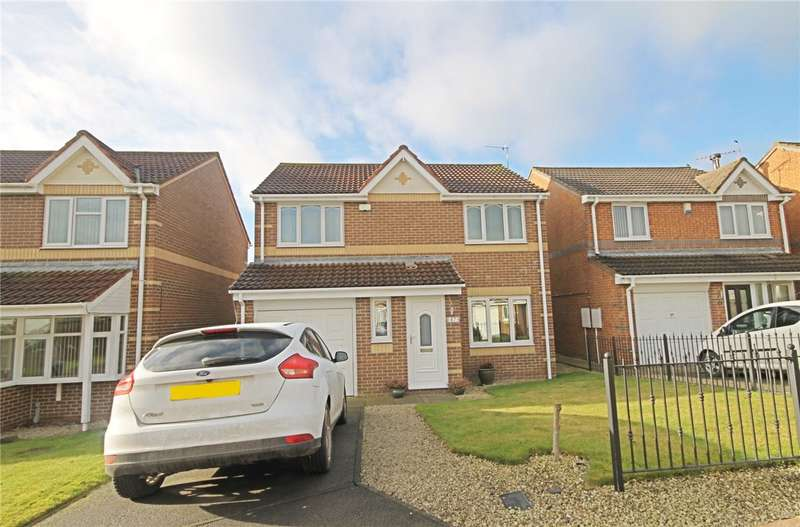 3 Bedrooms Detached House for sale in Abbotsfield Way, Faverdale, Darlington, DL3