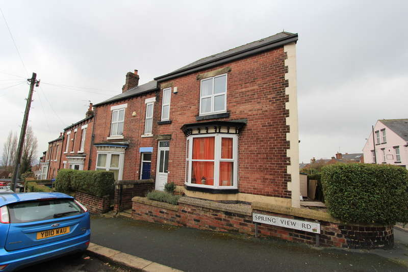 3 Bedrooms Terraced House for rent in Spring View Road, Sheffield, S10