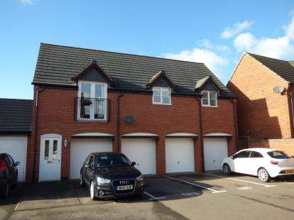 2 Bedrooms Flat for sale in Foss Road, Hilton, Derby, Derbyshire