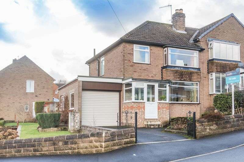 3 Bedrooms Semi Detached House for sale in Ashurst Close, Stannington, S6 5LJ - Generous Corner Plot