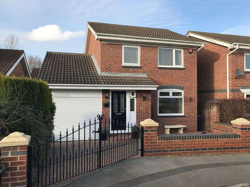 3 Bedrooms Detached House for sale in The Cornfields, Hebburn