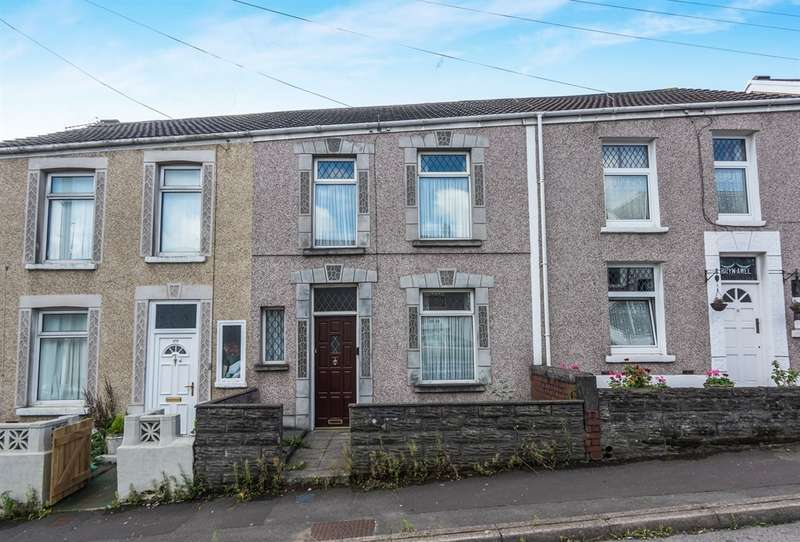 3 Bedrooms Terraced House for sale in Middle Road, Cwmdu, Swansea