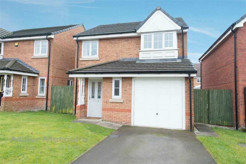 3 Bedrooms Detached House for sale in Shawcroft View, Astley Bridge, Bolton, Lancashire
