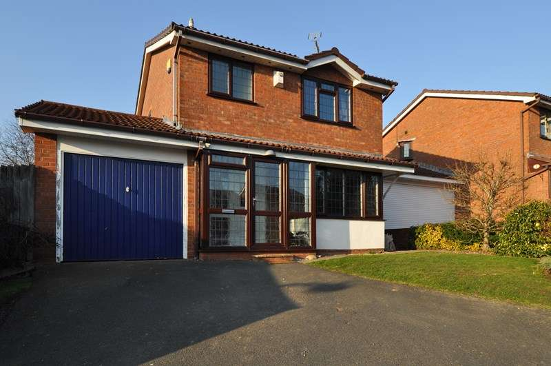 3 Bedrooms Detached House for sale in Jordans Close, Crabbs Cross, Redditch