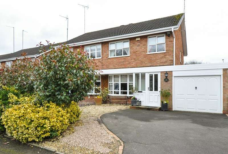 3 Bedrooms Semi Detached House for sale in Munsley Close, Matchborough East, Redditch