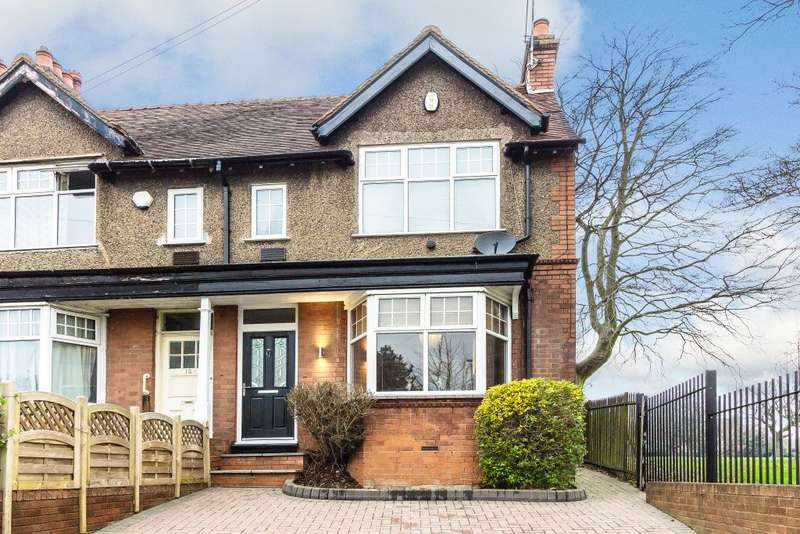 4 Bedrooms Semi Detached House for sale in Hagley Road West, Bearwood, West Midlands, B67 5EX