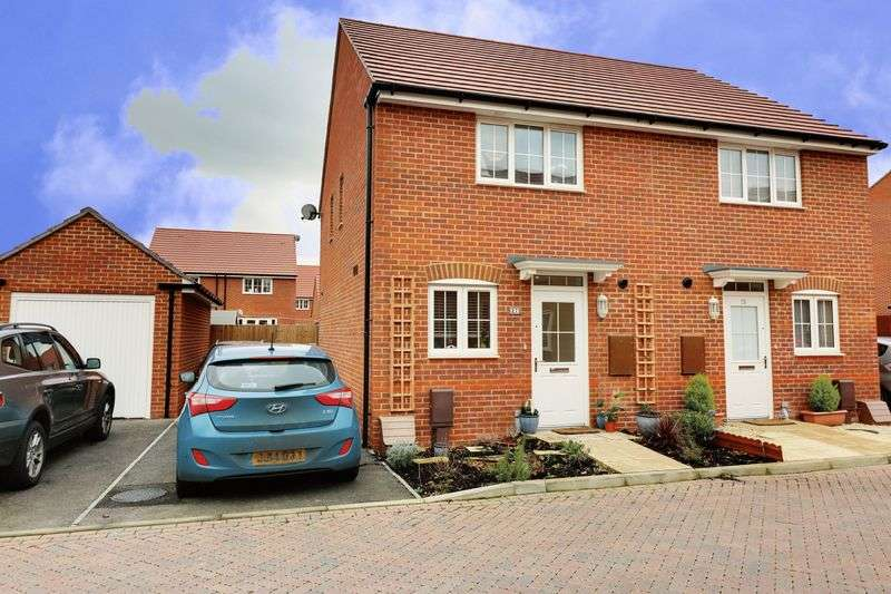 2 Bedrooms Semi Detached House for sale in Daffodil Way, Denvilles, Havant