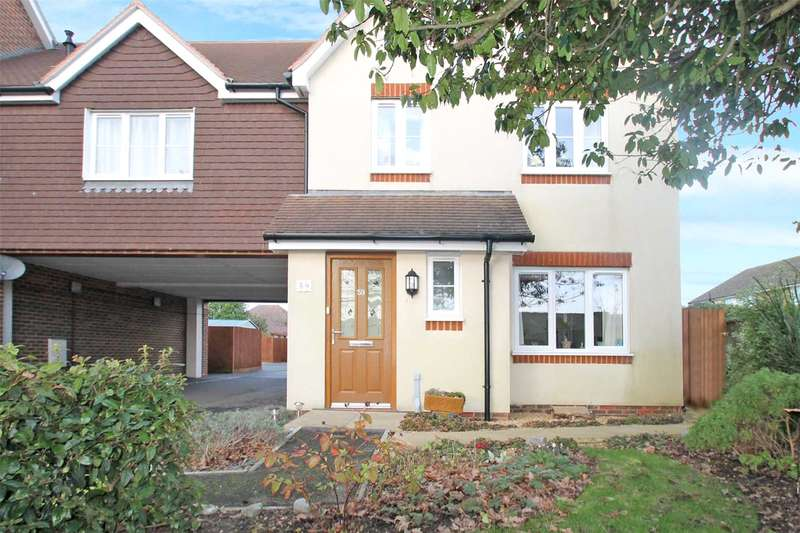 3 Bedrooms End Of Terrace House for sale in Woodlands Avenue, Rustington, West Sussex, BN16