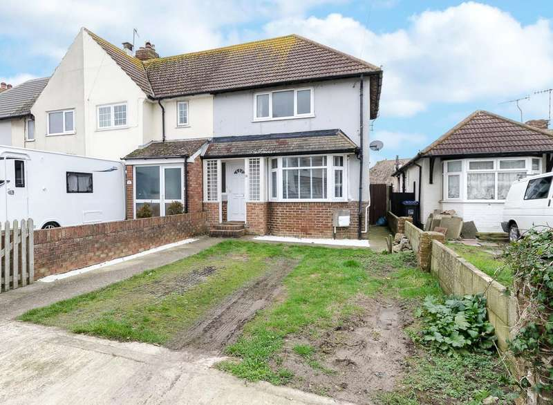 2 Bedrooms End Of Terrace House for sale in Orient Road, Lancing, West Sussex, BN15