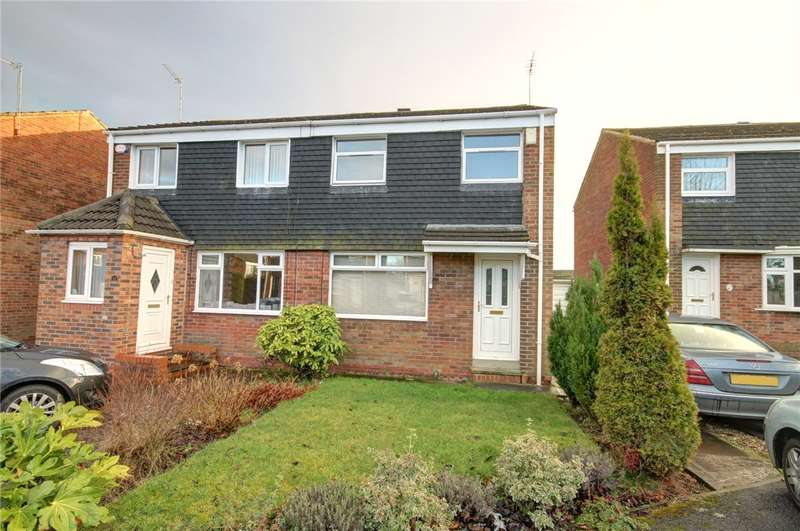 3 Bedrooms Semi Detached House for sale in Deerness Heights, Brandon, Durham, DH7