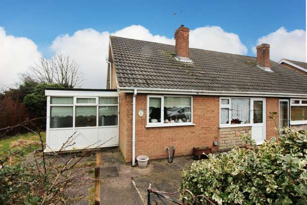 2 Bedrooms Semi Detached Bungalow for sale in Woodhall Close, Mansfield, Nottinghamshire, NG18 2EB