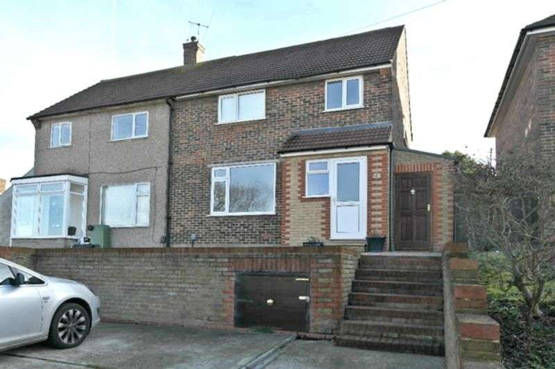 3 Bedrooms Semi Detached House for sale in Chippenham Road, Harold Hill