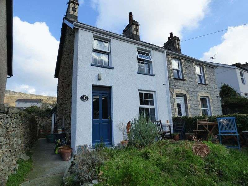 2 Bedrooms Semi Detached House for sale in 1 Rose Cottage, Valley Road, Llanfairfechan LL33 0SH