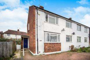 2 Bedrooms Maisonette Flat for sale in Brecon Court, Trafalgar Avenue, Worcester Park, Surrey