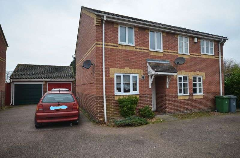 2 Bedrooms Semi Detached House for sale in Dussindale, Norwich