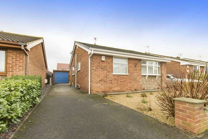 2 Bedrooms Detached Bungalow for sale in OAK DRIVE, MICKLEOVER