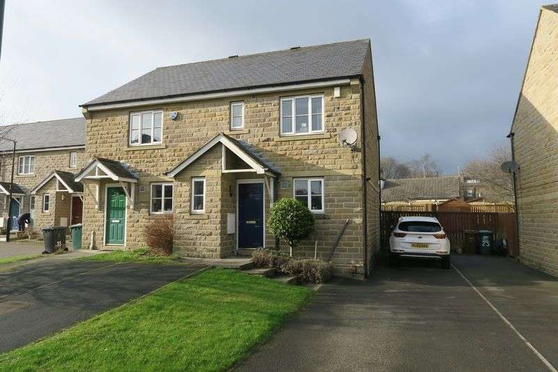 3 Bedrooms Semi Detached House for sale in Dartmouth Mews, Morley, Leeds