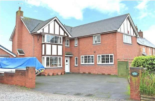 4 Bedrooms Detached House for sale in Nantwich Road, Calveley, Tarporley, Cheshire