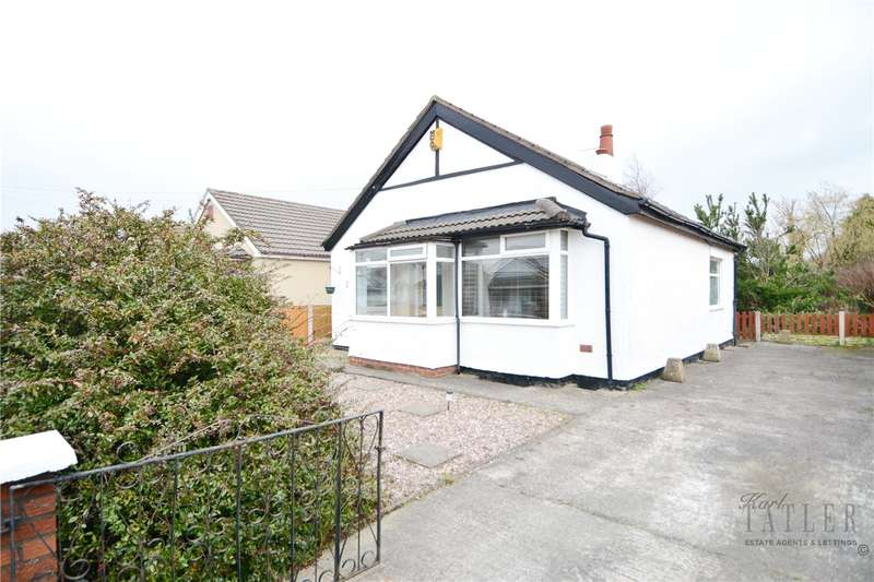2 Bedrooms Detached Bungalow for sale in Garrick Avenue, Moreton, Wirral