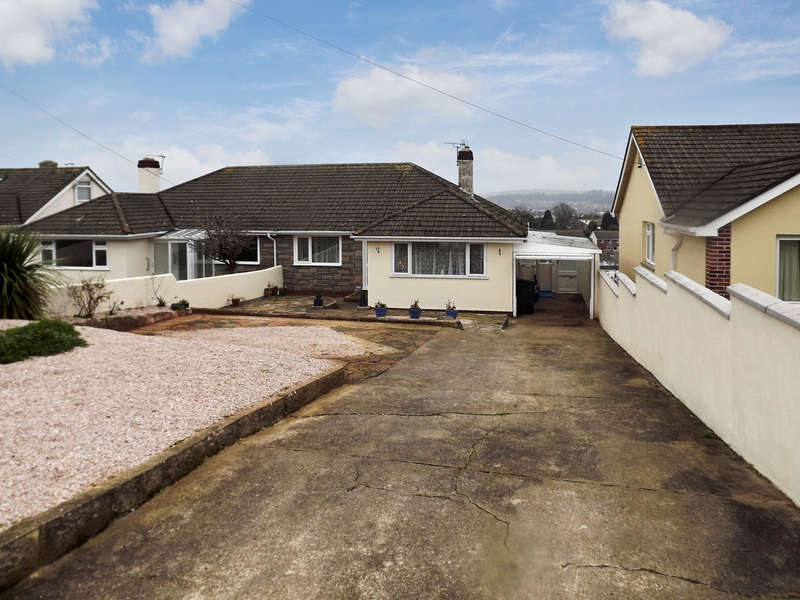 2 Bedrooms Semi Detached Bungalow for sale in Nut Bush Lane, Chelston, Torquay