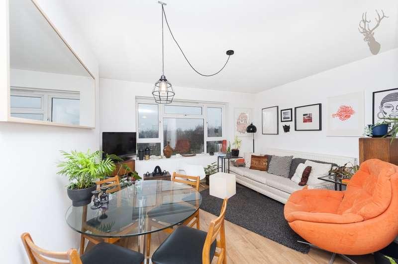 2 Bedrooms Flat for sale in Queensbridge Court, Queensbridge Road, Haggerston, E2