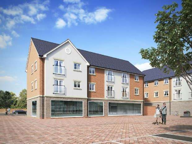 2 Bedrooms Apartment Flat for sale in Old Sarum