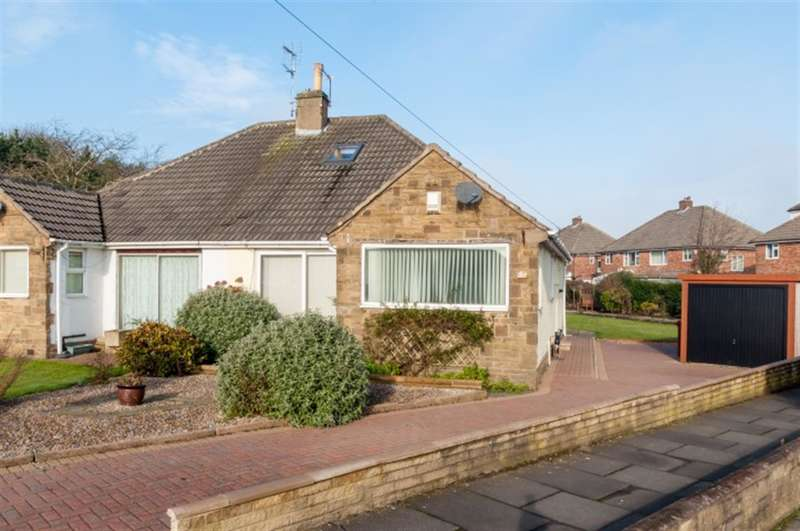 4 Bedrooms Semi Detached Bungalow for sale in Thorne Close, Pudsey, LS28