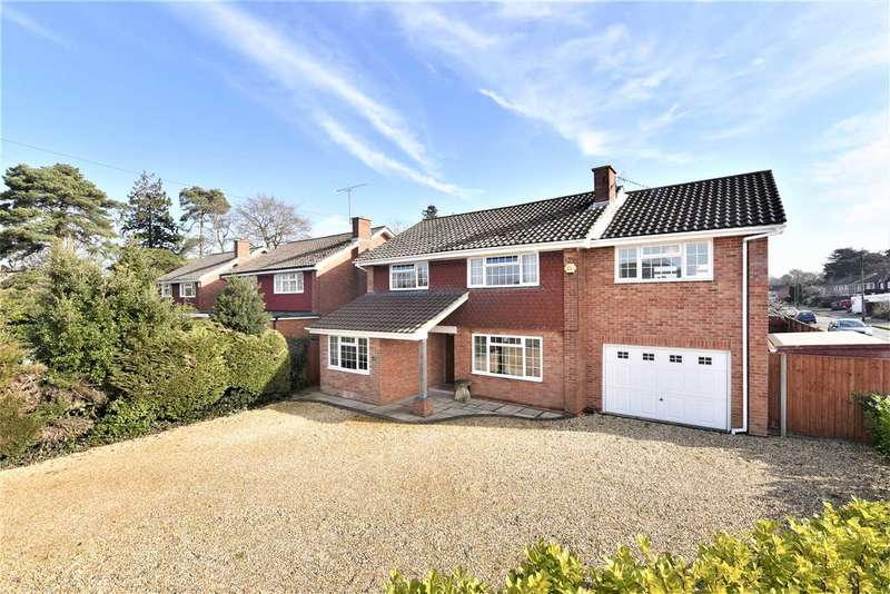 5 Bedrooms Detached House for sale in ALLOTMENT ROAD, SARISBURY GREEN