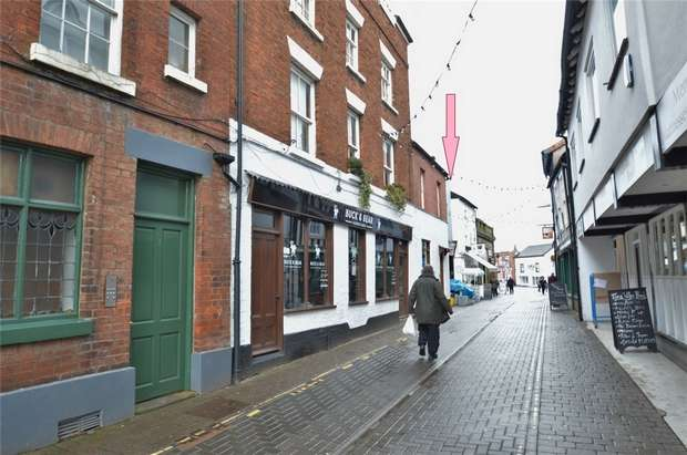 2 Bedrooms Flat for sale in Tower Street, Ludlow, Shropshire