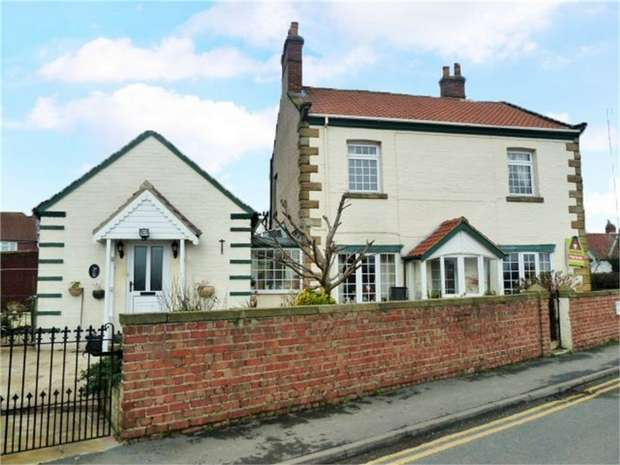 3 Bedrooms Detached House for sale in Browns Terrace, Hinderwell, Saltburn-by-the-Sea, North Yorkshire